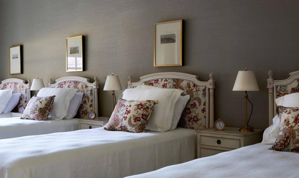 Texas interior design Melissa Morgan M Interiors Medina girls' bunk bedroom