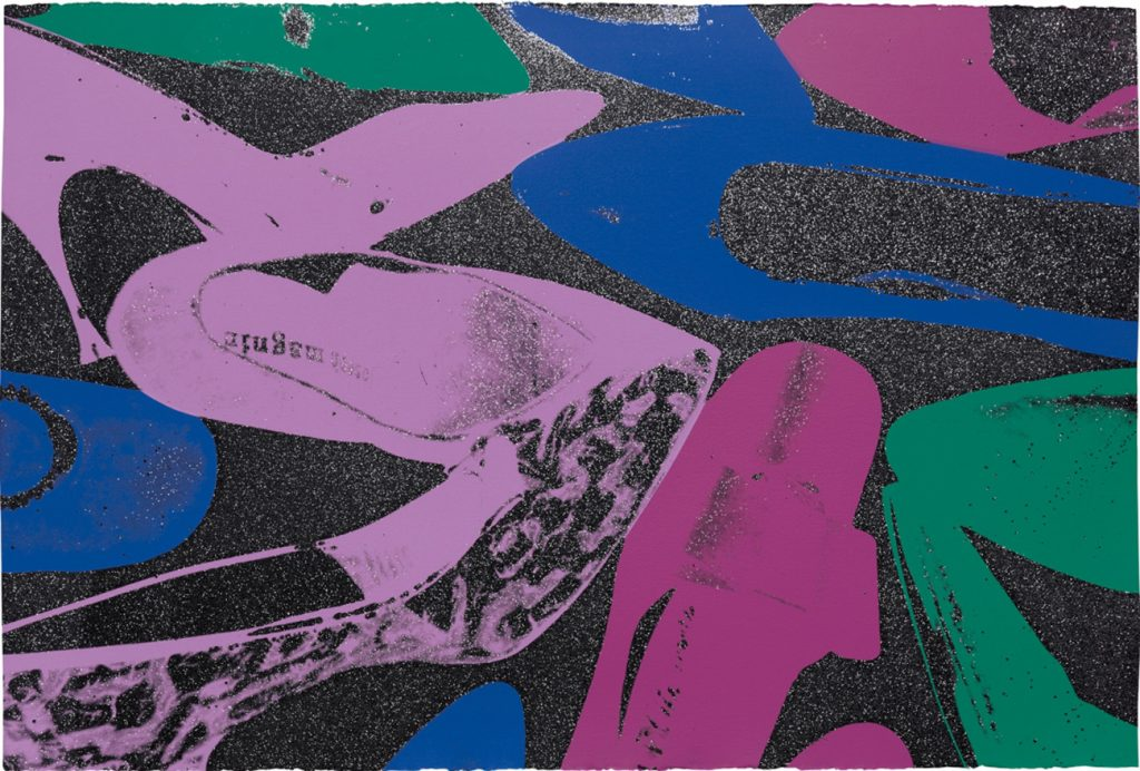TEFAF Maastricht 2020 Shapero Modern London Andy Warhol Shoes