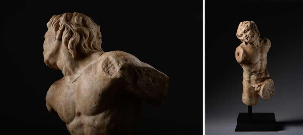 TEFAF Maastricht 2020 ArtAncient ancient Roman satyr