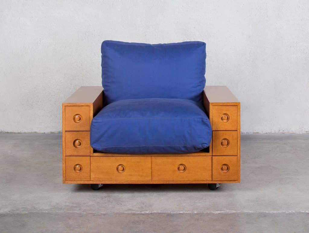 TEFAF Maastricht 2020 Friedman Benda New York Shiro Kuramata armchair
