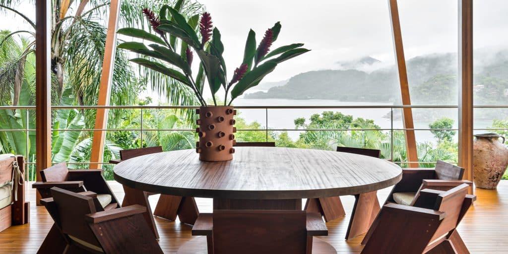 Andre Mellone Studio Mellone Brazilian Beach Jungle House Terrace Outdoor Dining