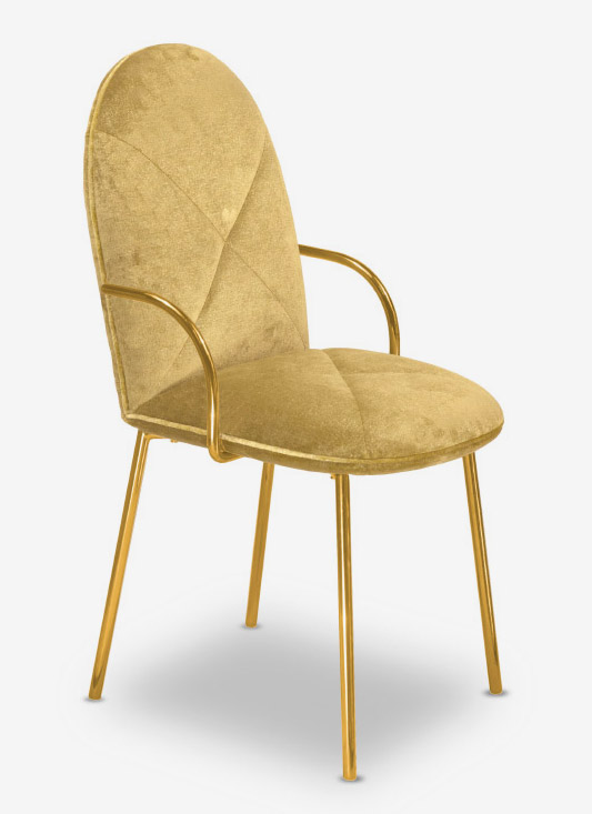 Orion Chair Gold Oro by Nika Zupanc