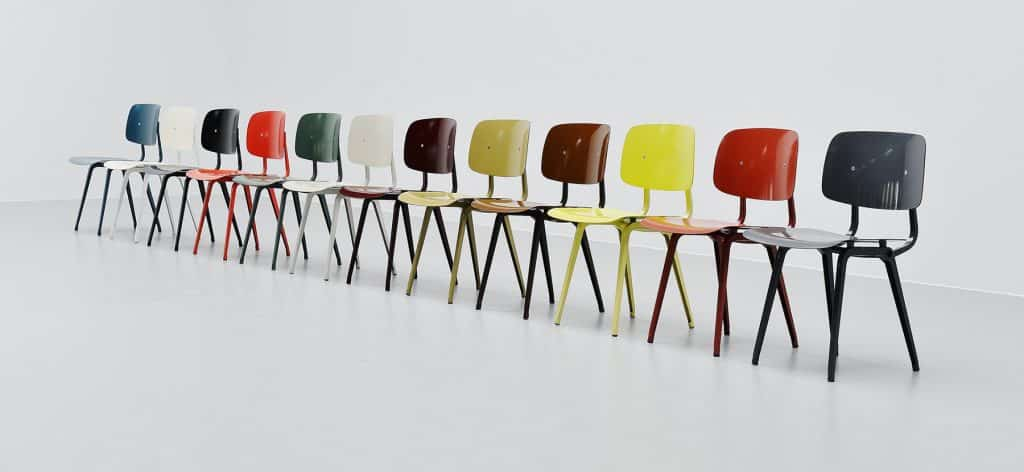 Friso Kramer Revolt chairs Mass Modern Design