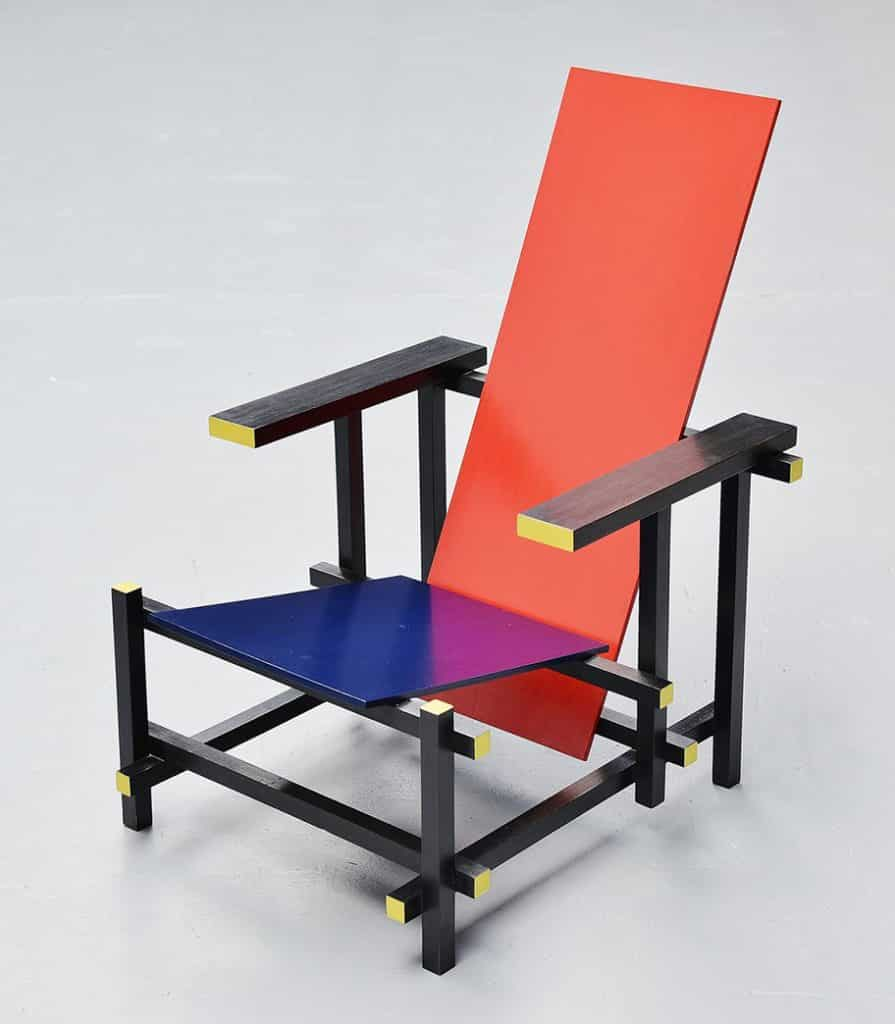 Gerrit Rietveld chair Mass Modern Design