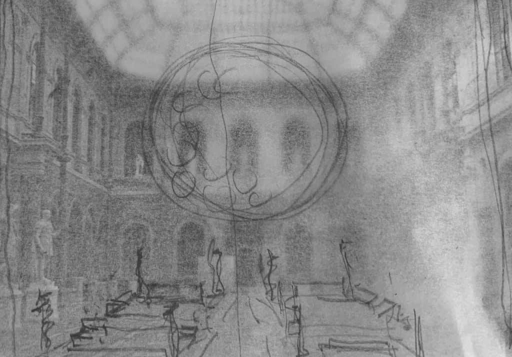 Lee F. Mindel sketch
