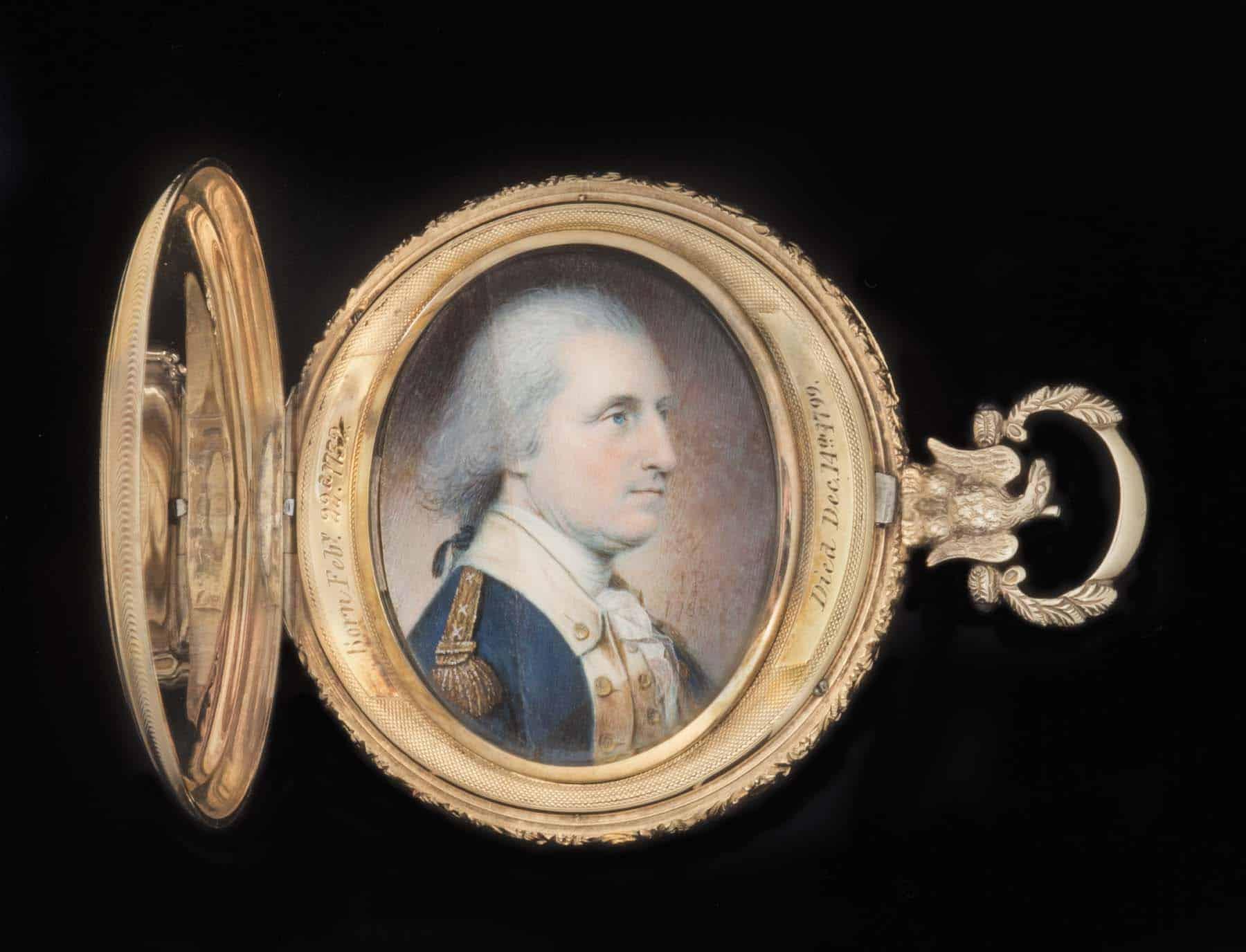 Americana Collector H. Richard Dietrich Jr. A Collector's Vision Philadelphia Museum of Art miniature George Washington James Peale