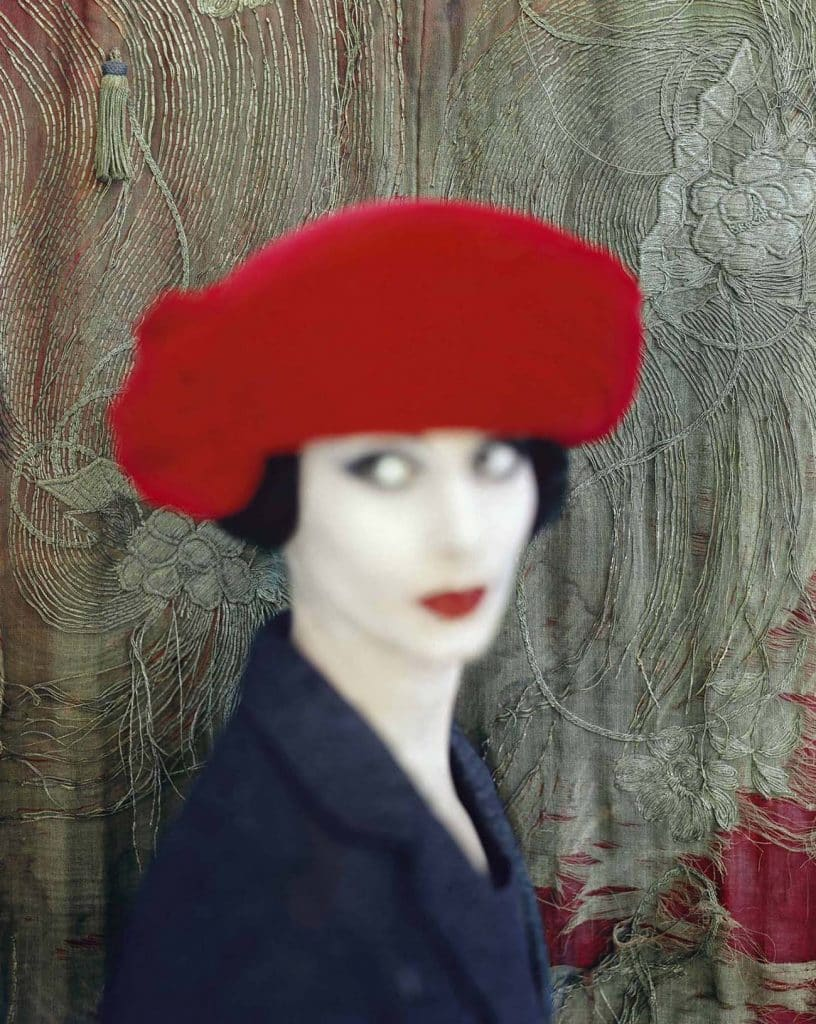 The Corn Poppy, which appeared in the November 1959 issue of British Vogue, by Norman Parkinson
