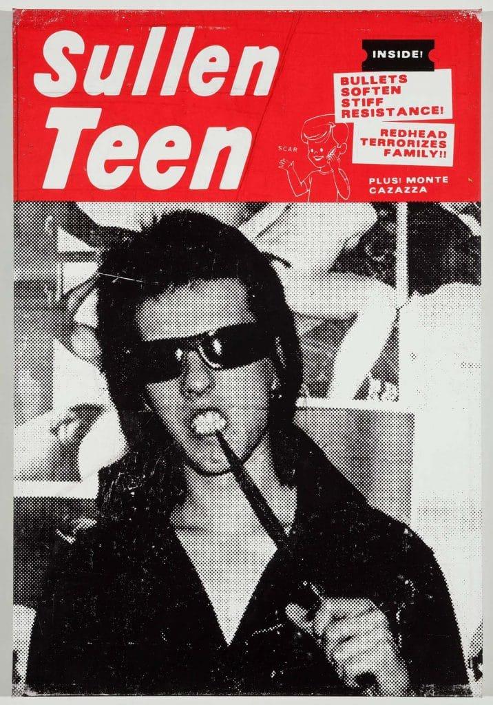 Sullen Teen, 2013, by Skylar Fein