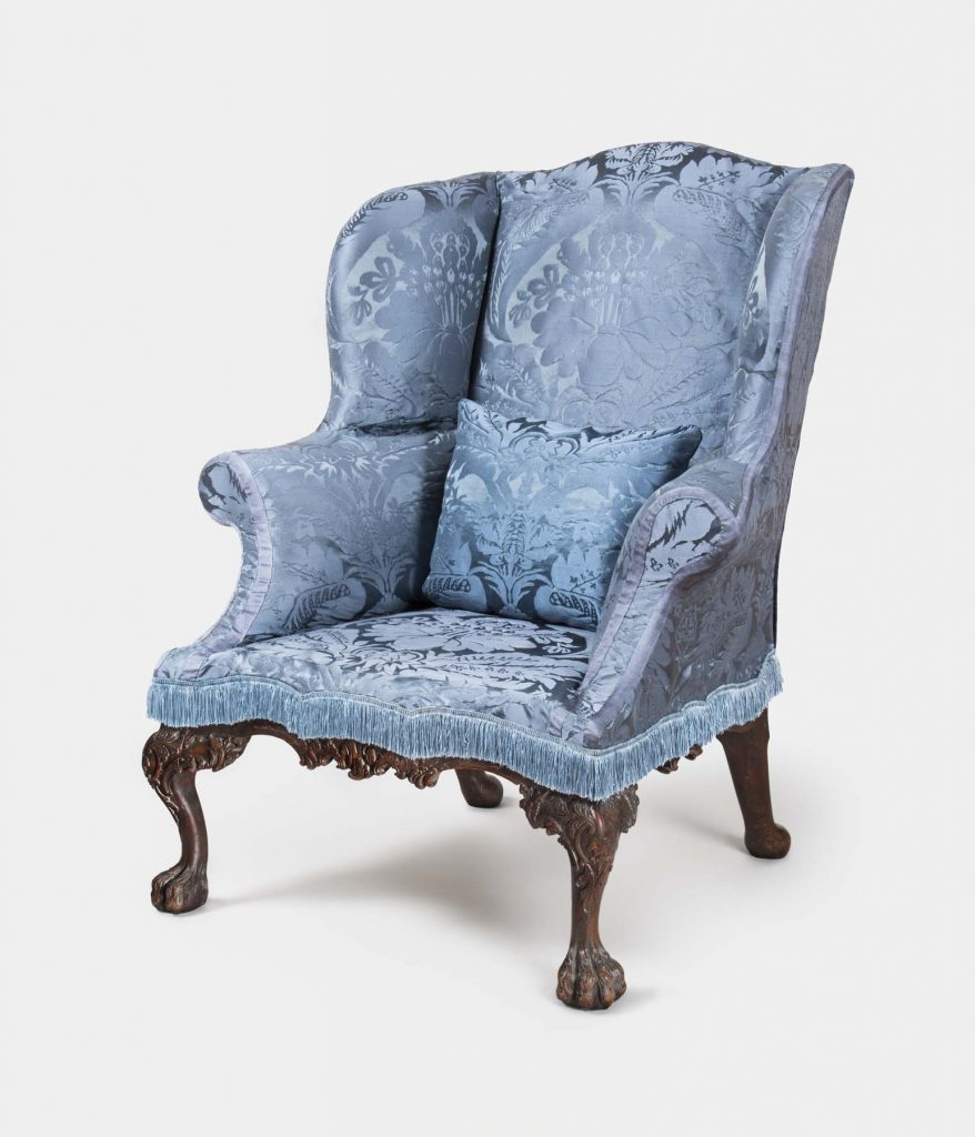 Americana Collector H. Richard Dietrich Jr. A Collector's Vision Philadelphia Museum of Art Cadwalader wing chair