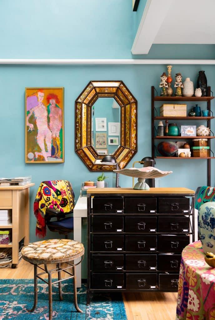 Interior designer Kati Curtis studio office New York West 57th Street Midtown Manhattan
