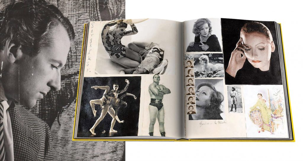 Spread from Cecil Beaton: The Art of the Scrapbook