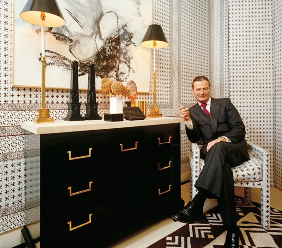 David Hicks at home