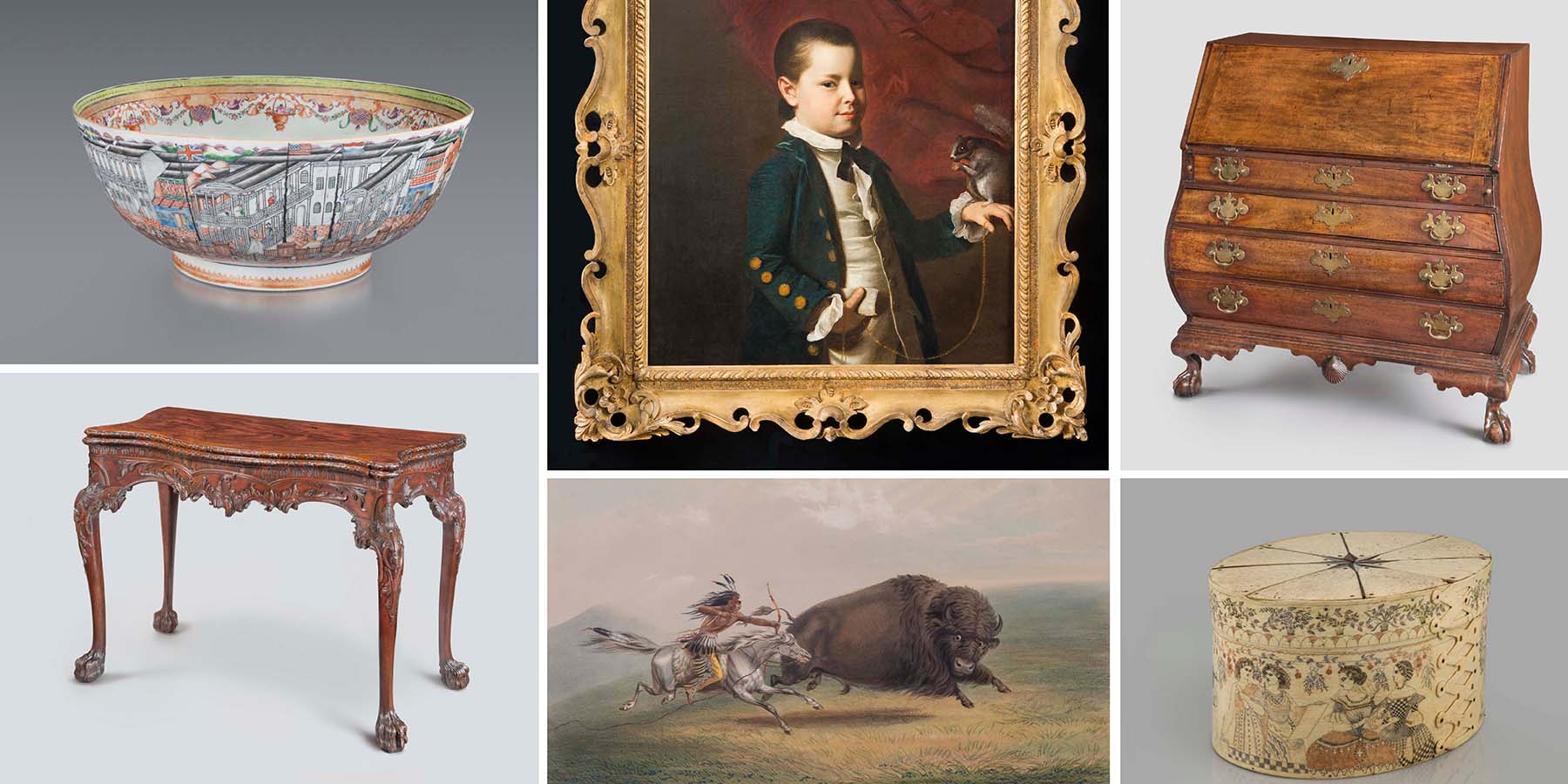 Americana Collector H. Richard Dietrich Jr. A Collector's Vision Philadelphia Museum of Art chest desk painting bowl box