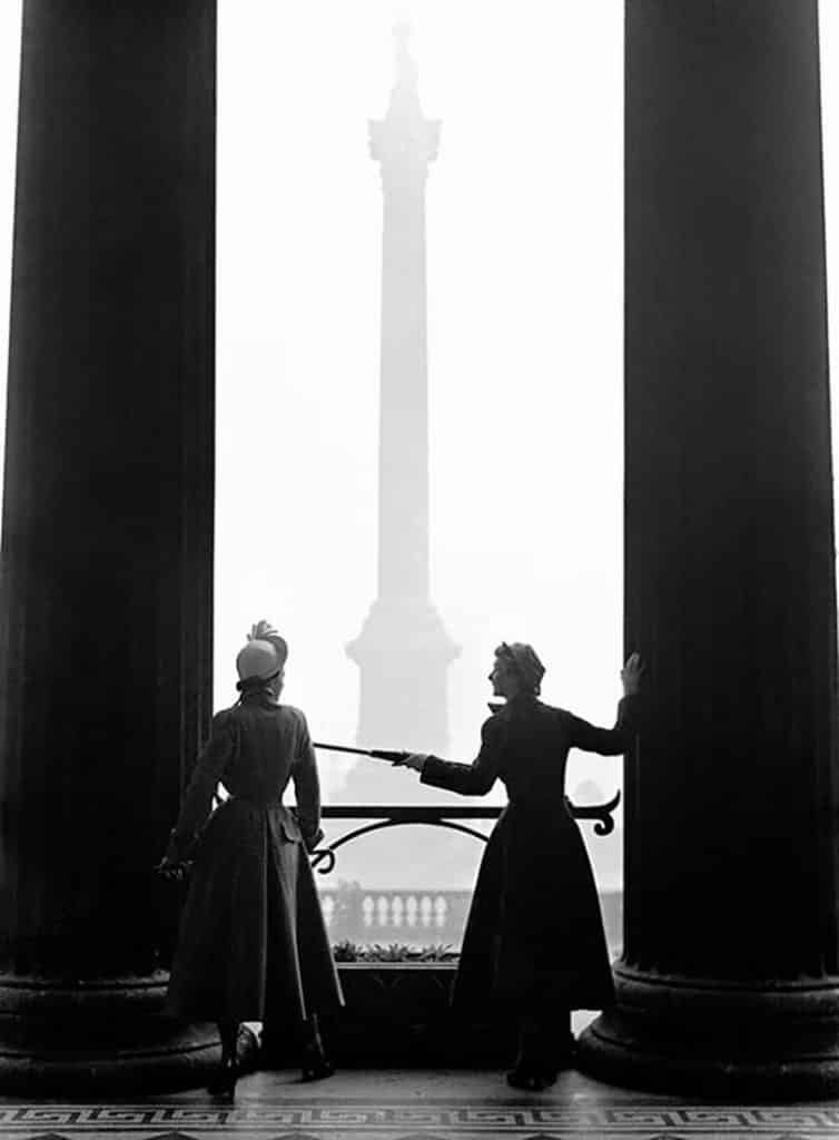 The New Look, London, 1949, by Norman Parkinson