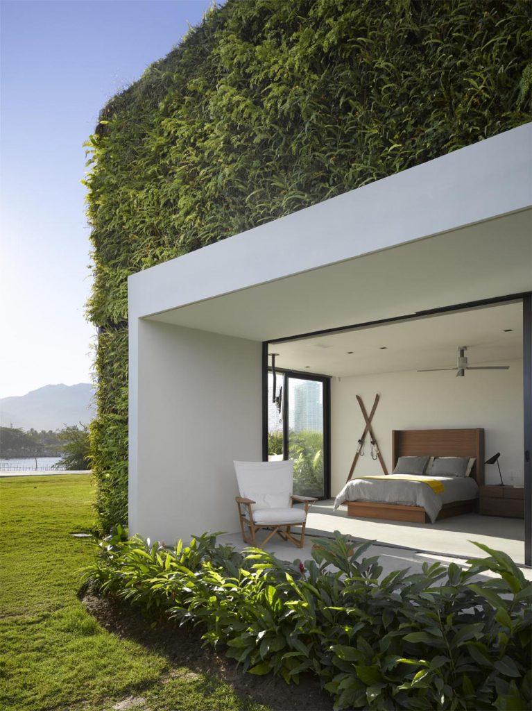 Vallarta House guest bedroom Ezequiel Farca and Cristina Grappin Farca + Grappin