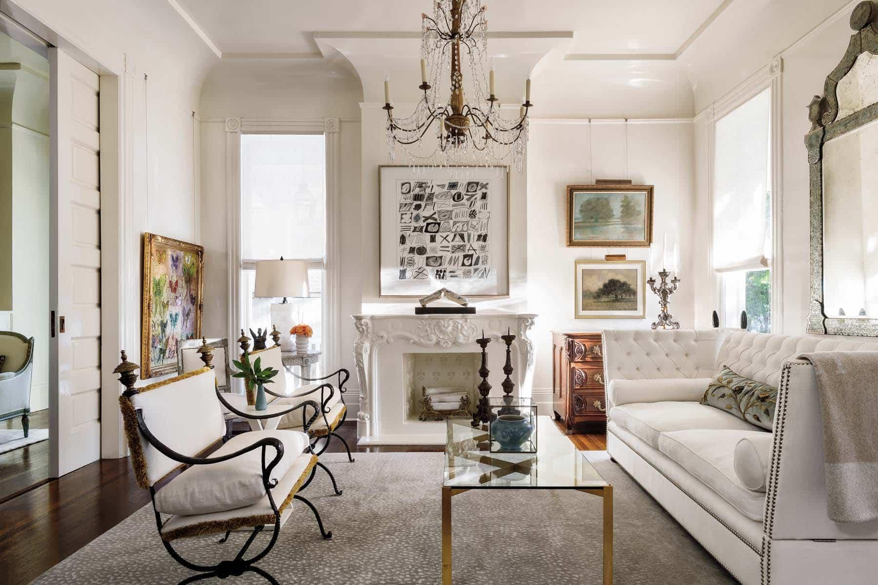 Tara Shaw white living room