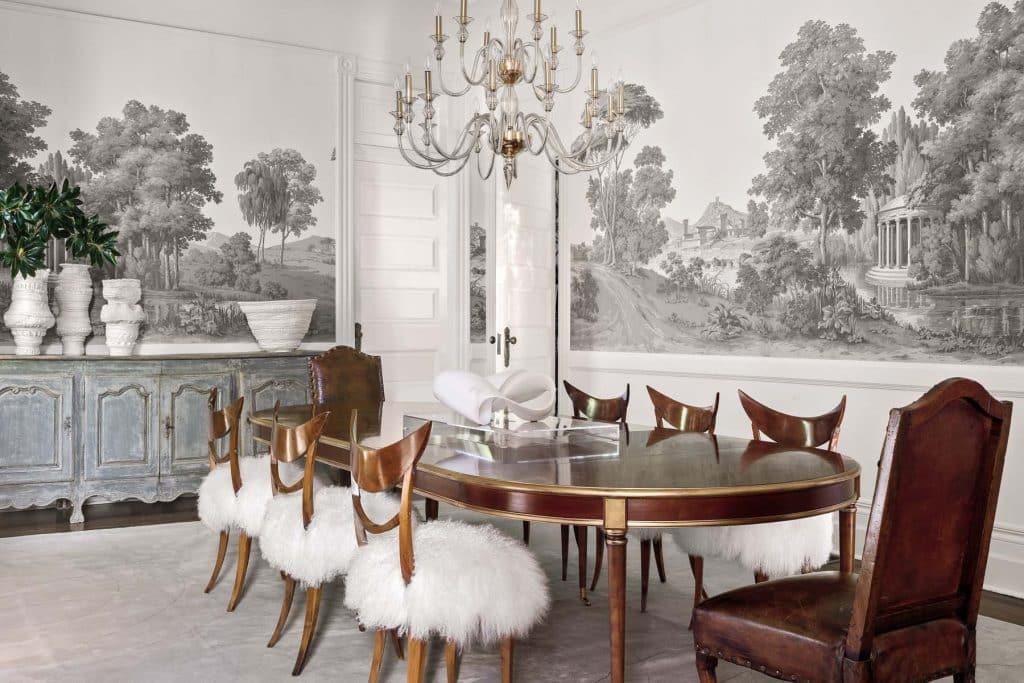 Tara Shaw dining room