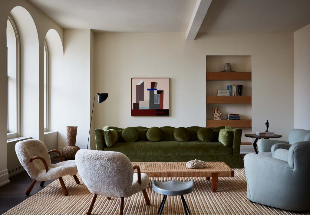 living room by Giancarlo Valle