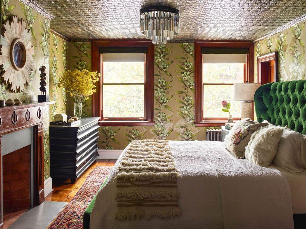 Interior designer Kati Curtis Chelsea Master bedroom