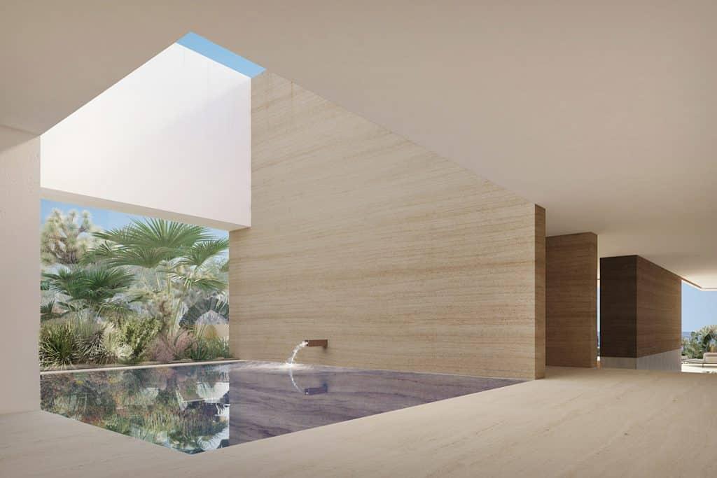 Maravilla House water feature Ezequiel Farca and Cristina Grappin Farca + Grappin