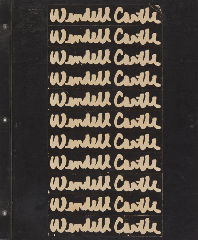 Wendell Castle Scrapbook: 1958–1980 (Damiani/R & Company)