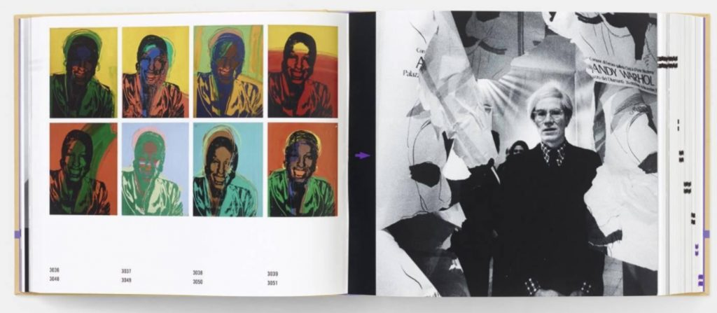 Andy Warhol Catalogue Raisonné is funded and overseen by the Andy Warhol Foundation and published by Phaidon