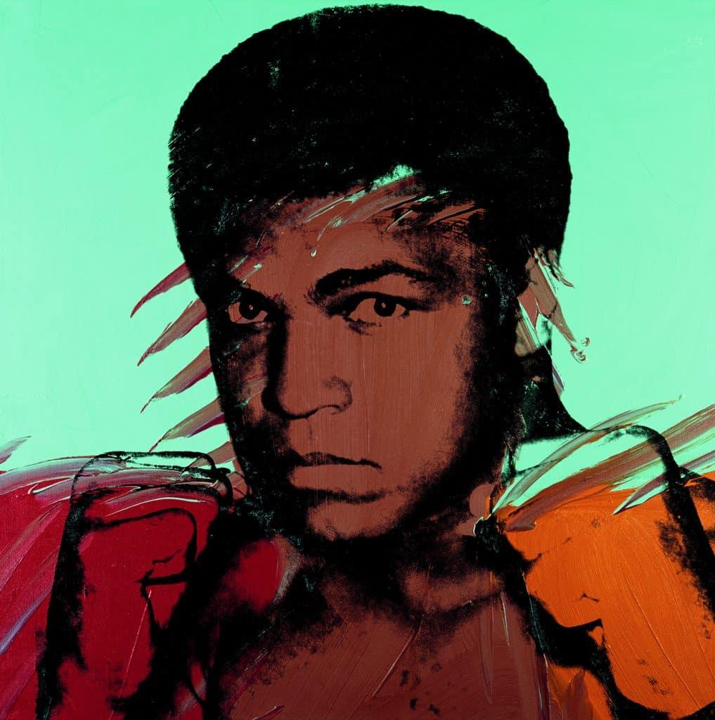 Andy Warhol's Muhammad Ali, 1977