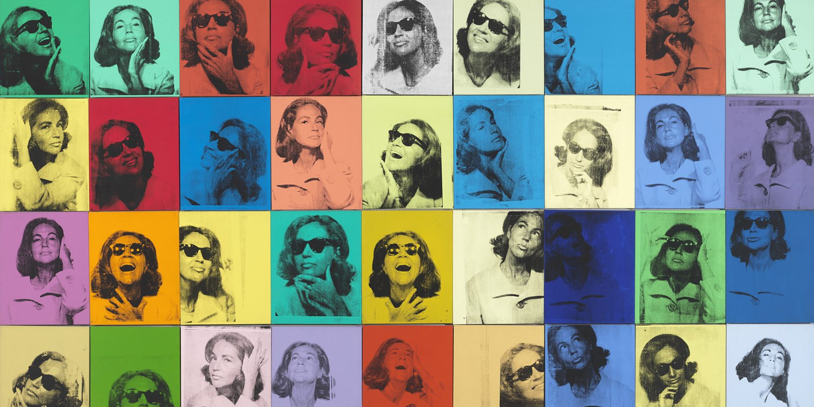 Andy Warhol's Ethel Scull 36 Times, 1963