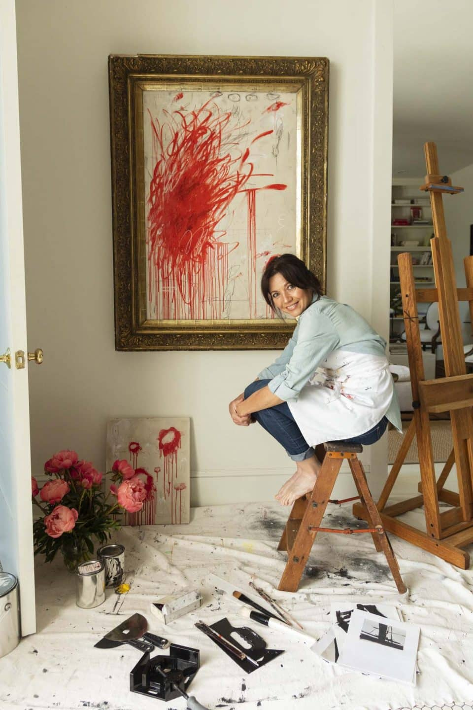 This New Orleans Antiques Dealer's Stylish Home Doubles as Her Art Studio