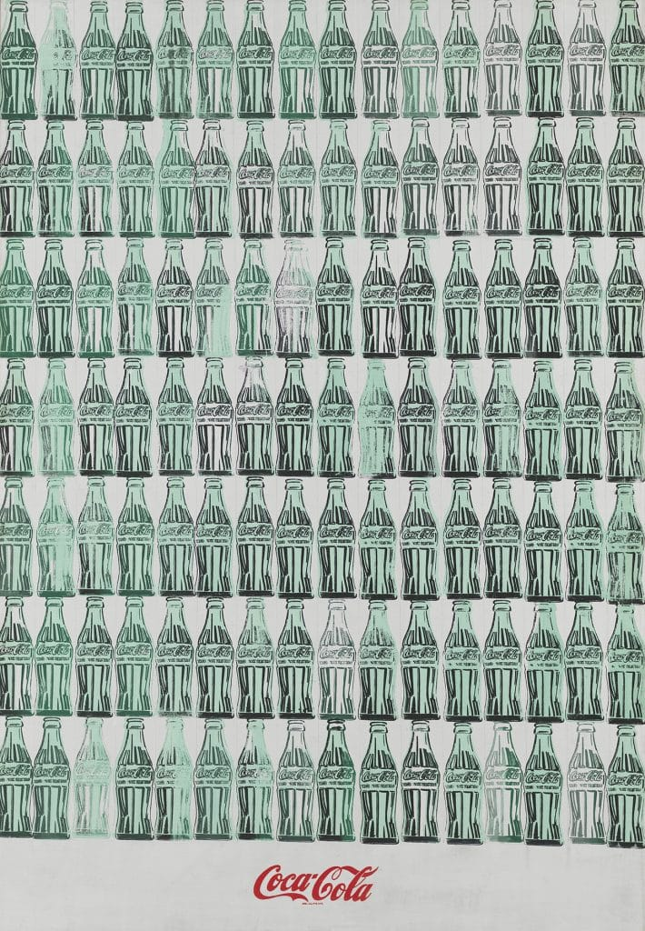 Andy Warhol's Green Coca-Cola Bottles, 1962