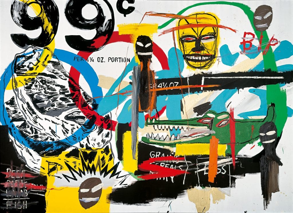 Untitled, Jean Michel Basquiat and Andy Warhol, 1984