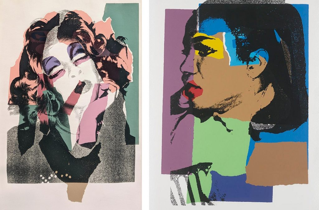 Andy Warhol's Ladies and Gentlemen (FS II.128), 1975 and Ladies and Gentlemen (FS II.129), 1975