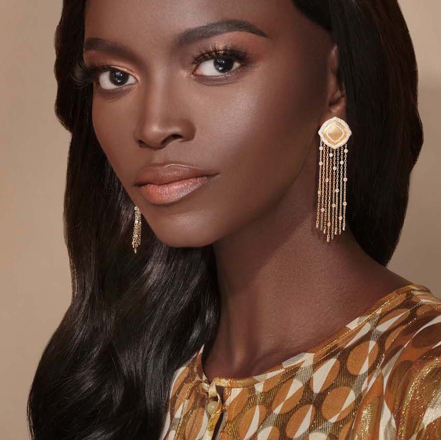 VanLeles Nile collection earrings