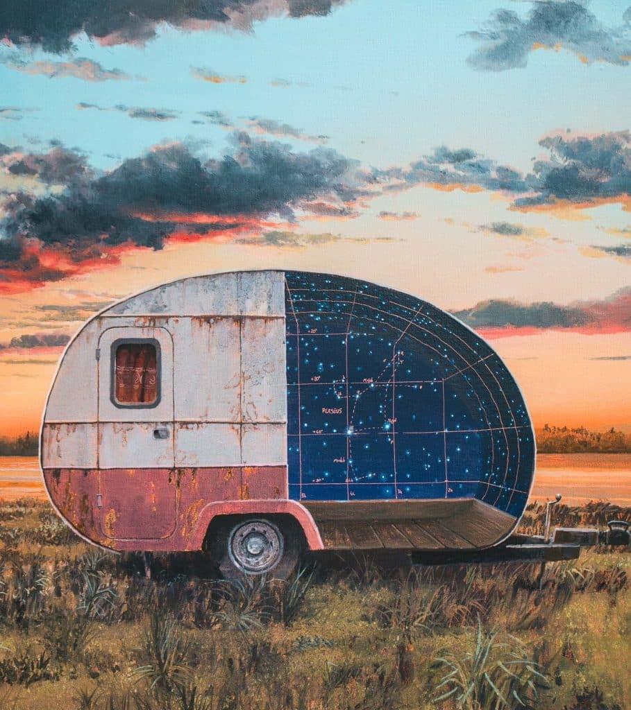 Perseus,2018, by Andrew McIntosh