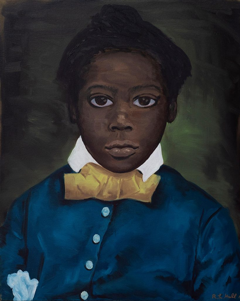 Portrait of A Boy, 2019, by Ronald Hall