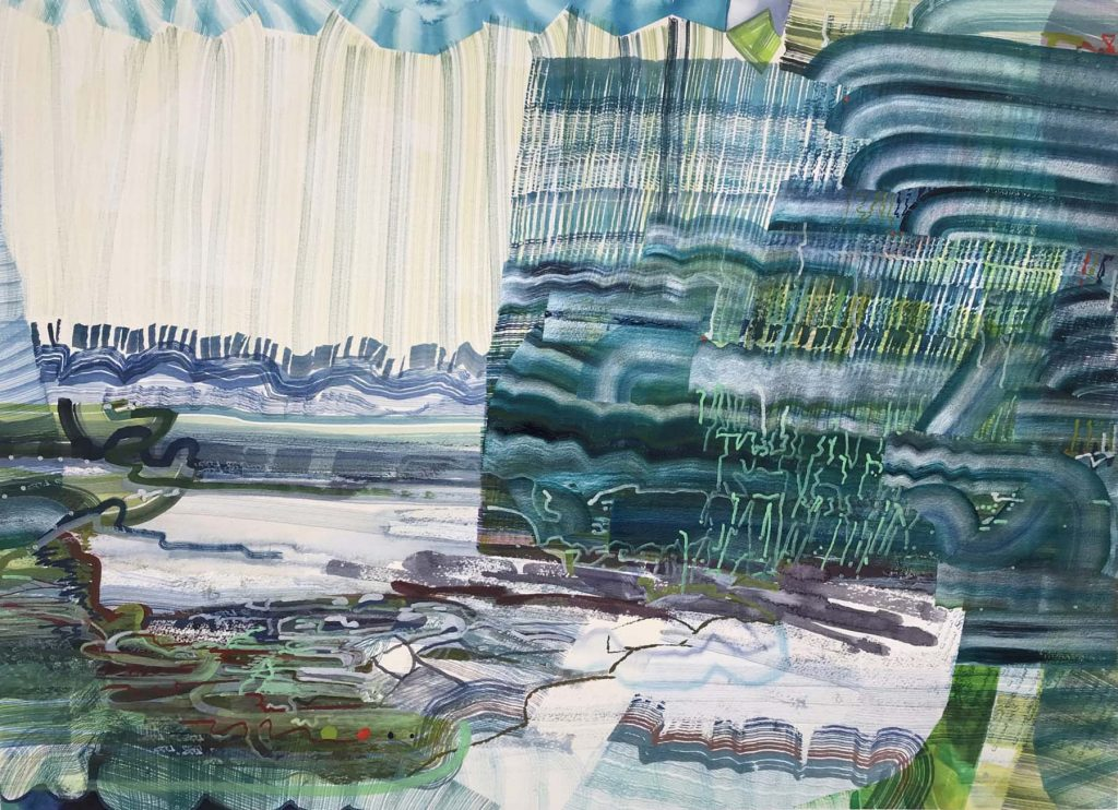 Sea Moss,2020, by Josette Urso