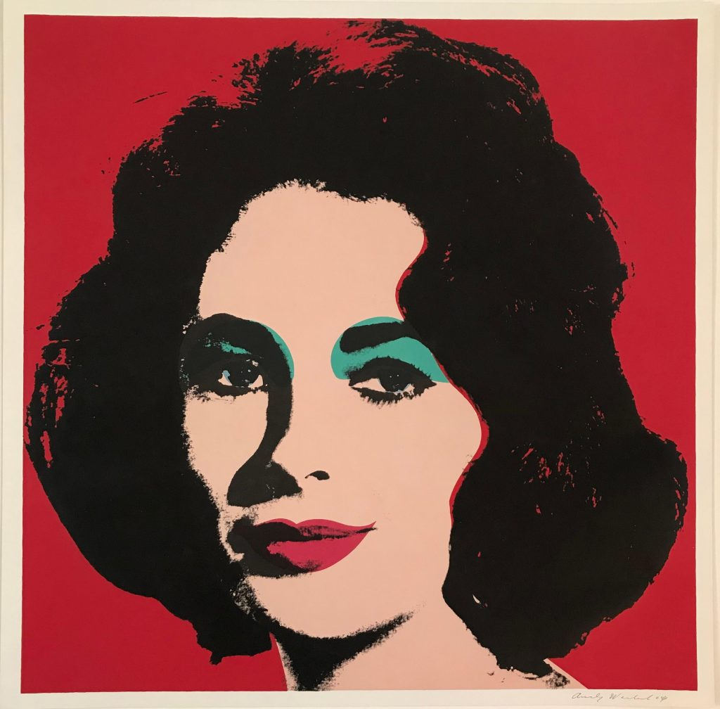 Andy Warhol's Liz, 1964