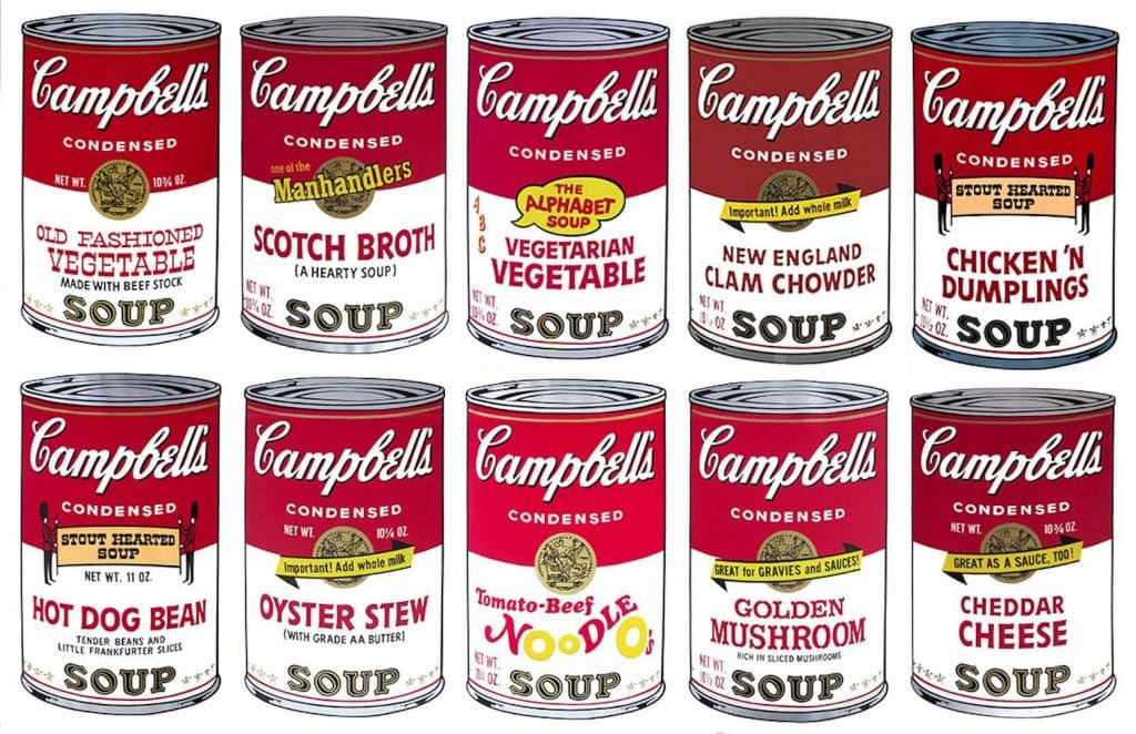 Campbell's Soup II Complete Portfolio 1969, by Andy Warhol
