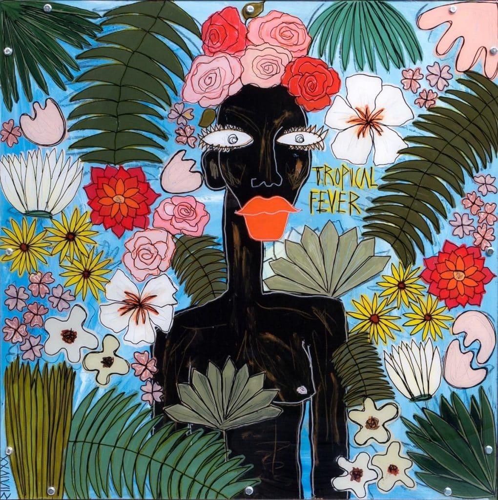 Tropical Fever, 2020, by Silvia Calmejane, presented by Envie d'Art