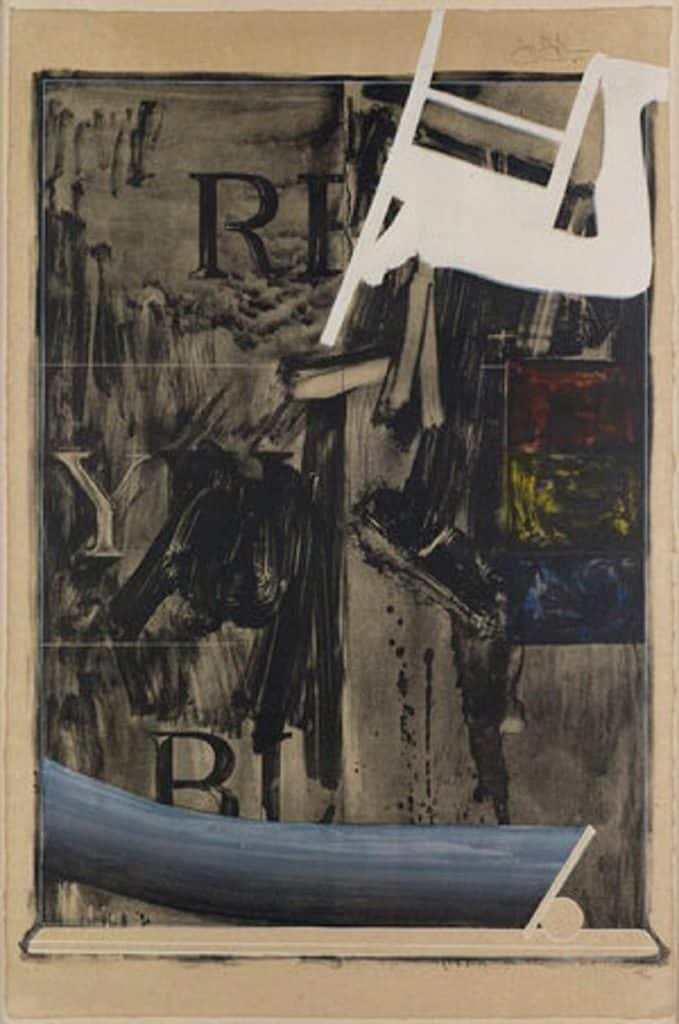 Watchman, 1967, by Jasper Johns, presented by F.L. Braswell Fine Art