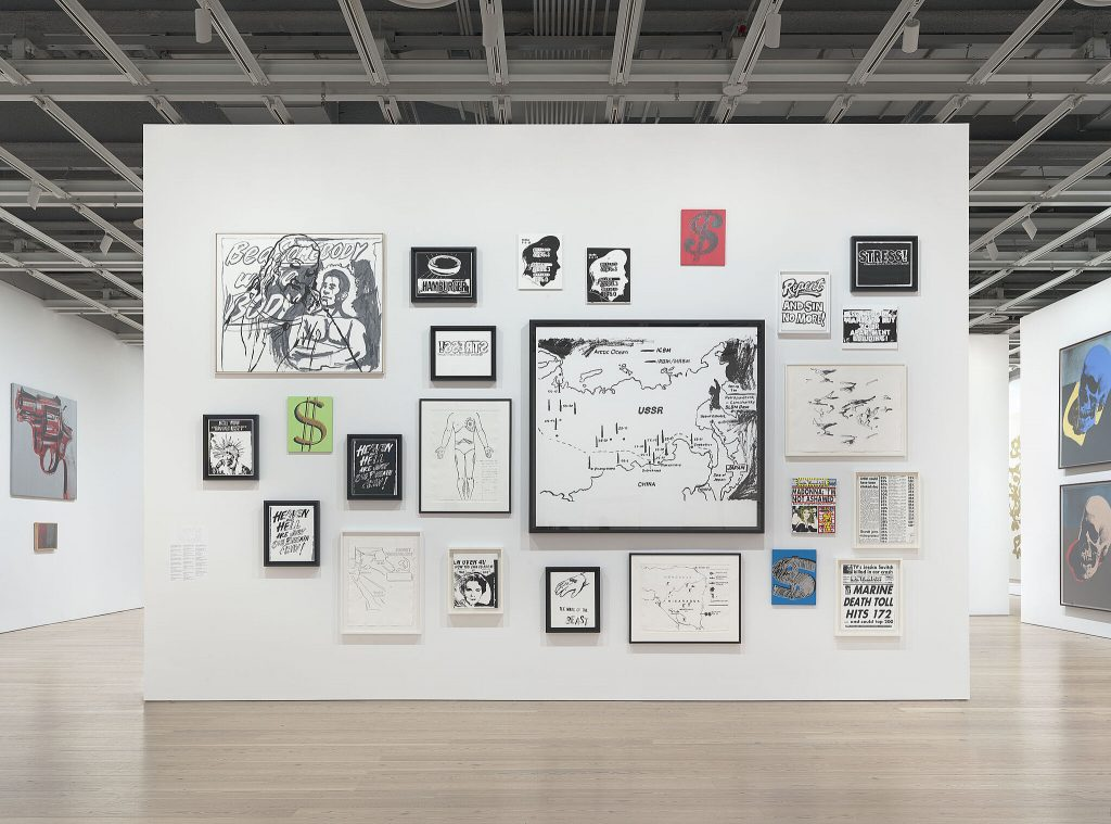 Installation view of Andy Warhol – From A to B and Back Again (Whitney Museum of American Art