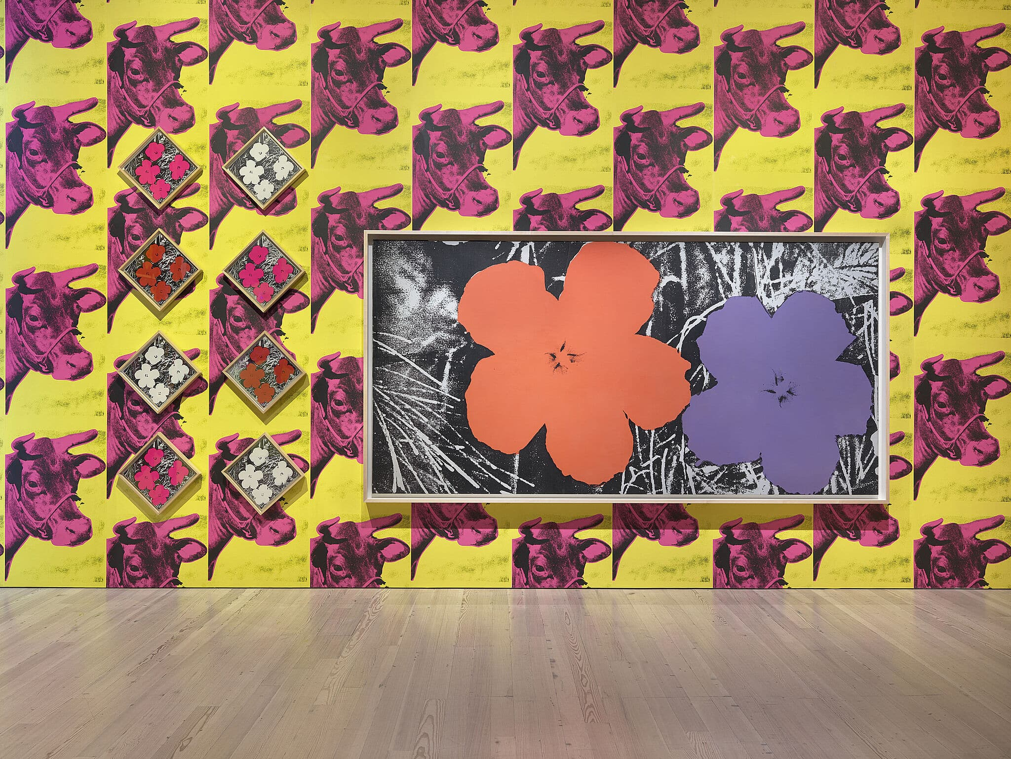 Installation view of Andy Warhol – From A to B and Back Again