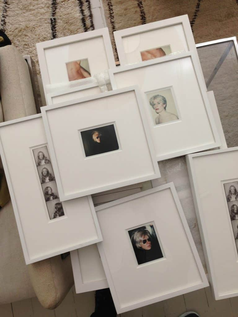 Dealer Jim Hedge's photos, both by and of Warhol, were part of an exhibition at 1stDibs' former gallery