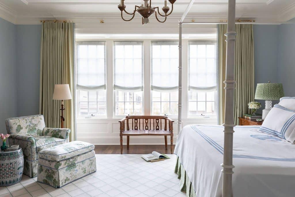 Jenny Brown Chicago master bedroom
