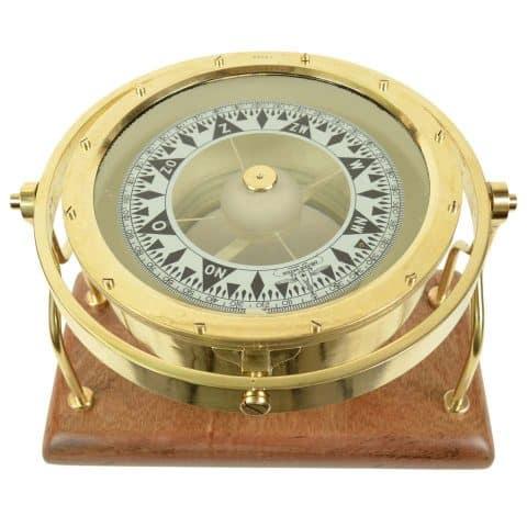 Observator signed compass, 1920s, offered by Antik Arte & Scienza sas di Daniela Giorgi