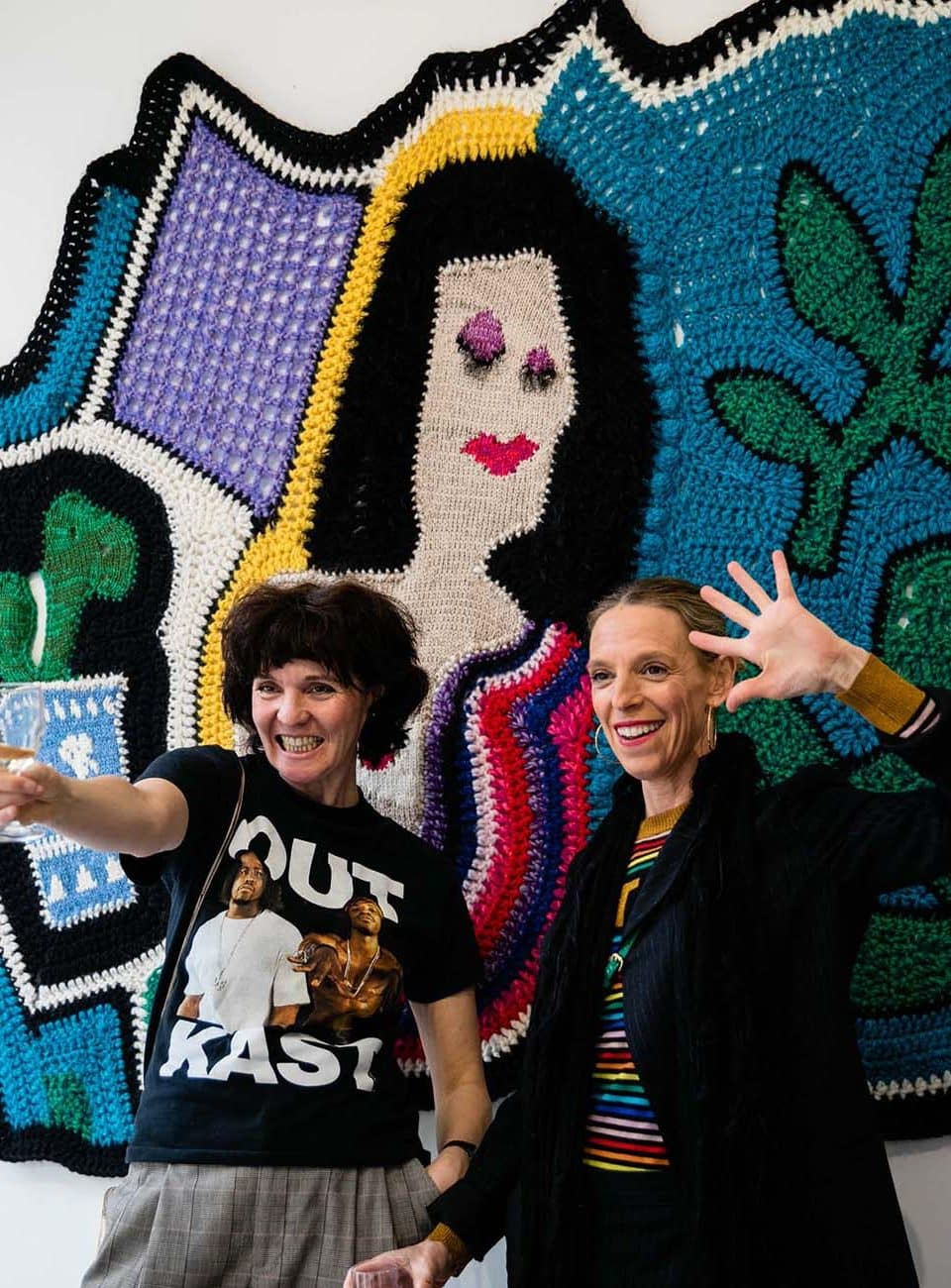 The Secret Ingredient of Paris Essex's 'Crazy Blankets' Is . . . Friendship