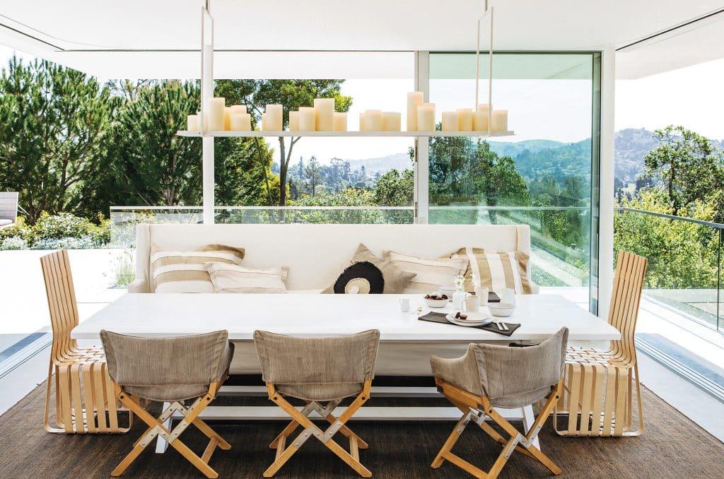 Larkspur dining room by Nicole Hollis