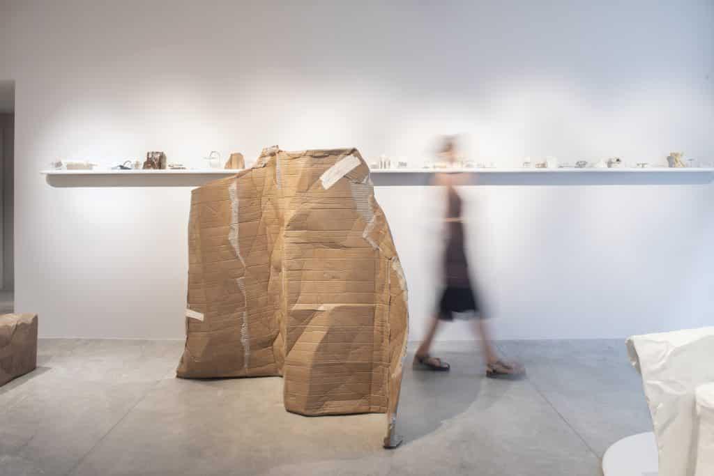 Faye Toogood Maquettes Friedman Benda Assemblage 6 Unlearning Box screen