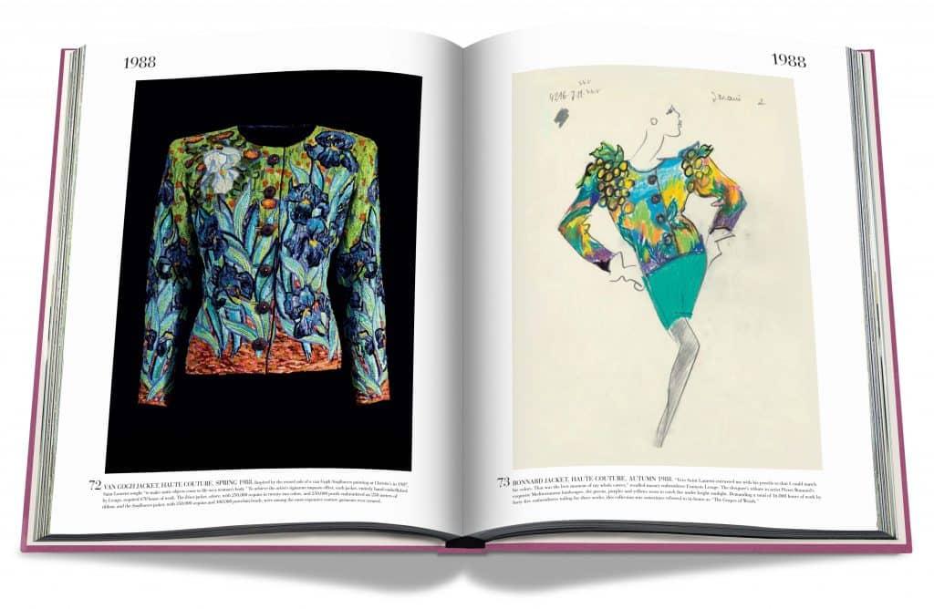 Yves Saint Laurent Van Gogh–inspired jacket