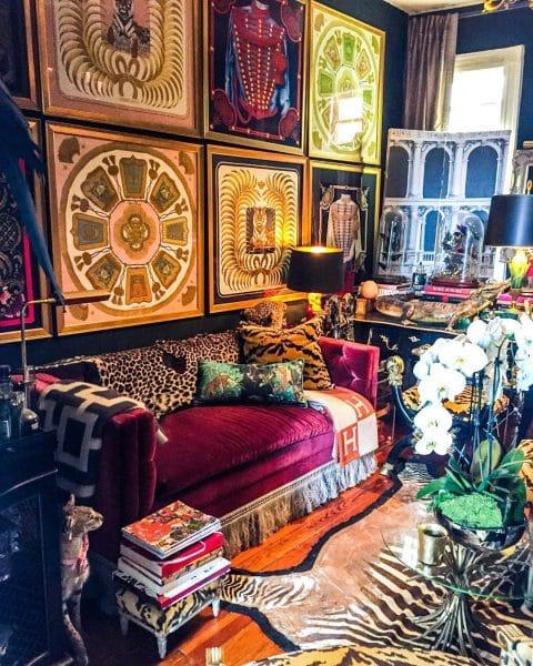James Kivior living room